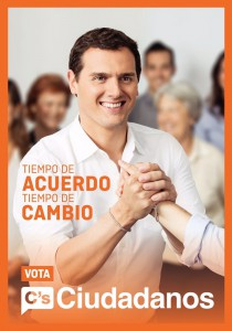 Cartel central de campaña